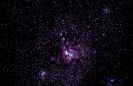 Eta Carinae Umgebung Mt. Zeder Südafrika